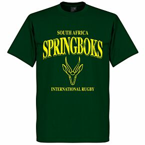 South Africa Springboks Rugby Tee - Bottle Green