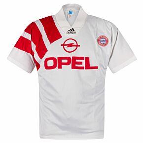 adidas Bayern Munich 1991-1993 Away Shirt - USED Condition (XXXXX) - Size M - Tim