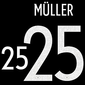 Müller 25 (Official Printing) 20-21 Germany Away