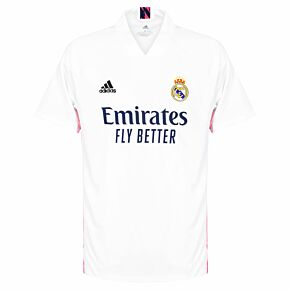 20-21 Real Madrid Home Shirt