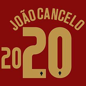 João Cancelo 20 (Official Printing) - 20-21 Portugal Home