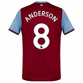 Umbro West Ham Home Anderson 8 Jersey 2019-2020