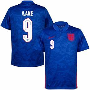 20-21 England Away Shirt + Kane 9 (Official Printing)
