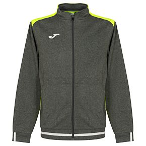 Joma Campus II Track Jacket - Grey/Yellow