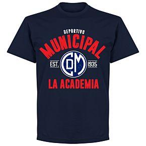 Deportivo Municipal Established T-Shirt - Navy