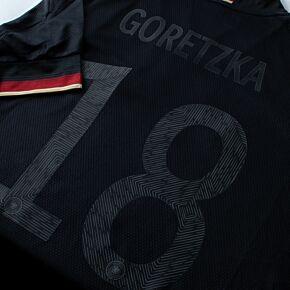 21-22 Germany Away Shirt - Blackout Printing