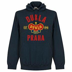 Dukla Praha Established Hoodie - Navy
