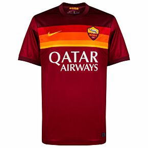 20-21 AS Roma Home Shirt