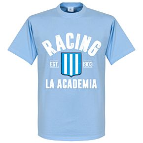 Racing Club Established Tee - Sky