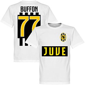 Juve Buffon 77 Team T-shirt - White