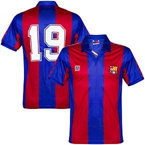Meyba Barcelona 1982-1984 Home Jersey No.19 NEW Condition - Size Medium