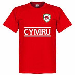Cymru Team Tee - Red