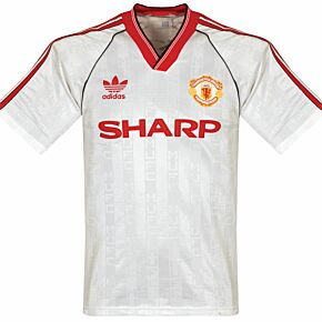 adidas Manchester United 1988-1999 Away Jersey - USED Condition (Good) - Size Medium