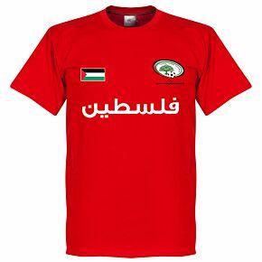 Palestine Tee - Red