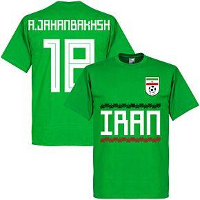 Iran A. Jahanbakhsh 18 Team Tee - Green