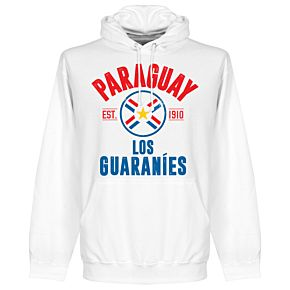 Paraguay Established Hoodie - White