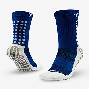 Trusox Mid-Calf Thin 2.0 Professional Socks - Royal/White