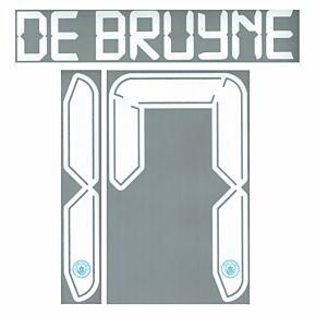 De Bruyne 17 (Cup Printing) - 21-22 Man City Home