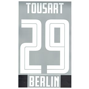 Tousart 29 (Official Printing) - 20-21 Hertha Berlin Away
