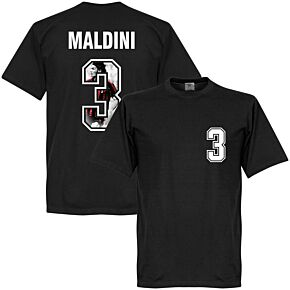 Maldini 3 Gallery Tee - Black