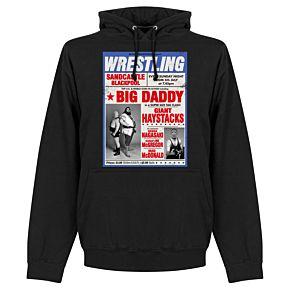 Wrestling Hoodie - Black