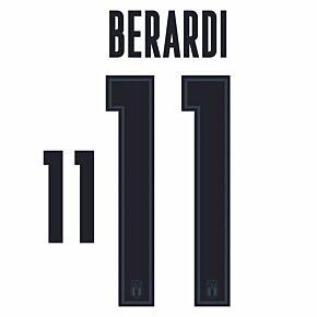 Berardi 11 (Official Printing) - 20-21 Italy Away