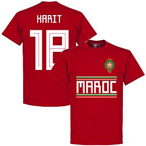 Morocco Harit 18 Team Tee - Red