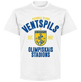 Ventspils Established T-shirt - White