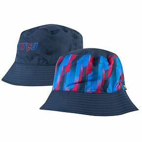 21-22 Barcelona Reversible Bucket Hat V2 - Navy