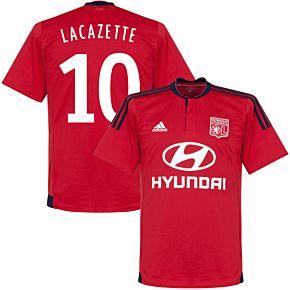 Olympique Lyon Away Lacazette Jersey 2015 / 2016 (Fan Style Printing)