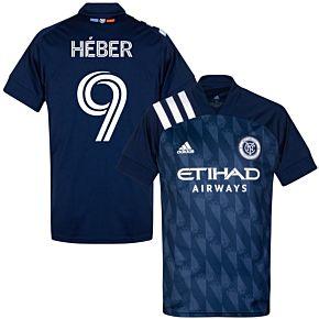 20-21 New York City FC AwayShirt + Heber 9 (Fan Style)