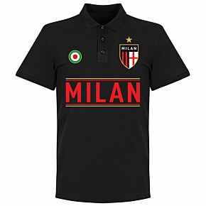 AC Milan Team Polo - Black