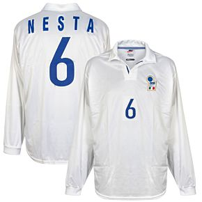Nike Italy 1998-1999 AwayShirt L/S NEW Match Issue(w/tags) - Pessotto No.7 - Size L
