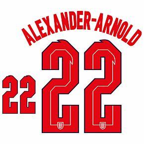 Alexander-Arnold 22 (Official Printing) - 20-21 England Home
