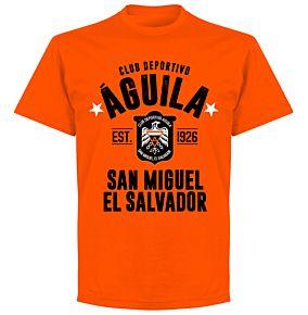 Club Deportivo Aguila Established T-shirt - Orange