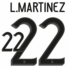 Martinez 22 (Official Printing) - 21-22 Argentina Home