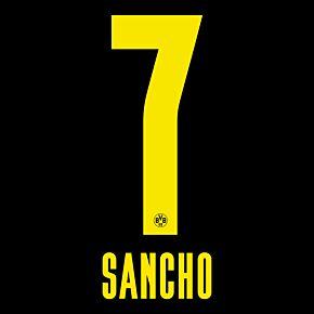 Sancho 7 (Official Printing) - 20-21 Borussia Dortmund Away