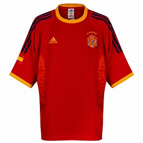 adidas Spain 2002-2004 Home Shirt NEW (w/tags) Condition (Excellent) - Size XL