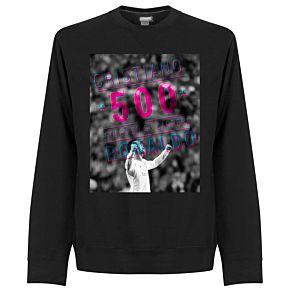 Ronaldo 500 Goals Sweatshirt - Black