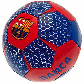 Barcelona Vector Football - Red/Blue (Size 5)