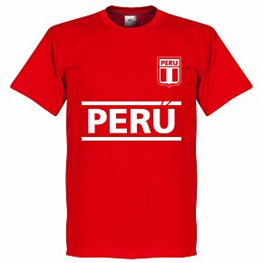 Peru Team Tee - Red