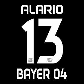 Alario 13 (Official Printing) - 20-21 Bayern Leverkusen Home/Away