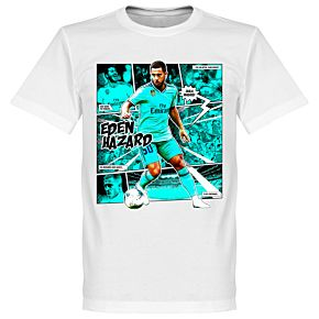 Hazard Comic Tee - White