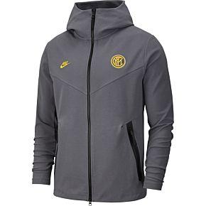 Nike Inter Milan NSW Tech FZ Hoodie - Grey 2019-2020