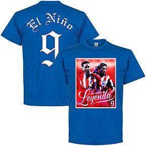 Torres El Niño 9 Atletico Legend Tee - Royal
