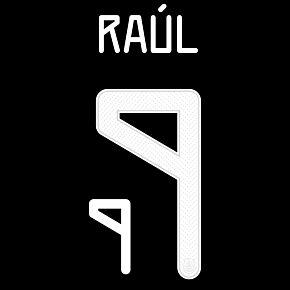 Raúl 9 (Official Printing) - 21-22 Mexico Home