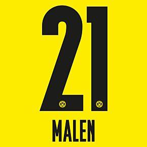Malen 21 (Official Printing) - 21-22 Borussia Dortmund Home
