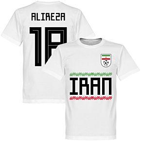 Iran Alireza 18 Team Tee - White