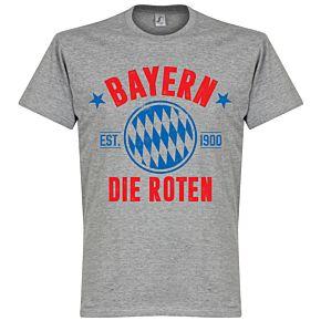 Bayern Established Tee - Grey