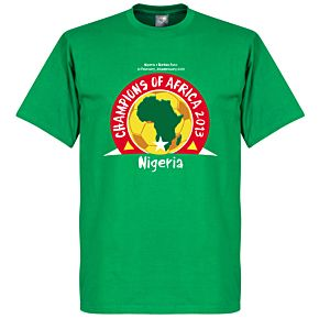 Nigeria Champions Of Africa 2013 Tee - Green